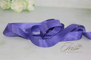 Шебби-лента Hug Snug - Royal Blue, 13 мм, 90 см