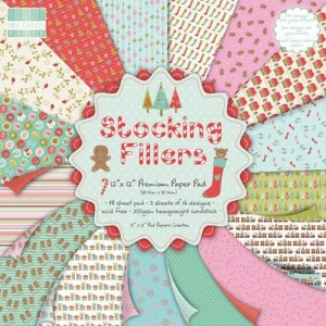Набор бумаги Stocking Fillers, 30х30 см, First Edition, 16 листов